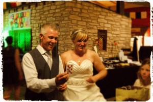 Twycross-Zoo-Wedding-Magician-John-Parkin-Entertains-Bride-and-Groom