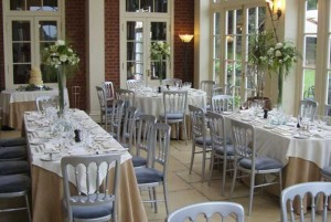 Dovecliff Hall Hotel Wedding Recption Table Decoration Ideas